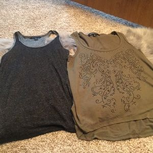 Bundle deal of two cute tank tops